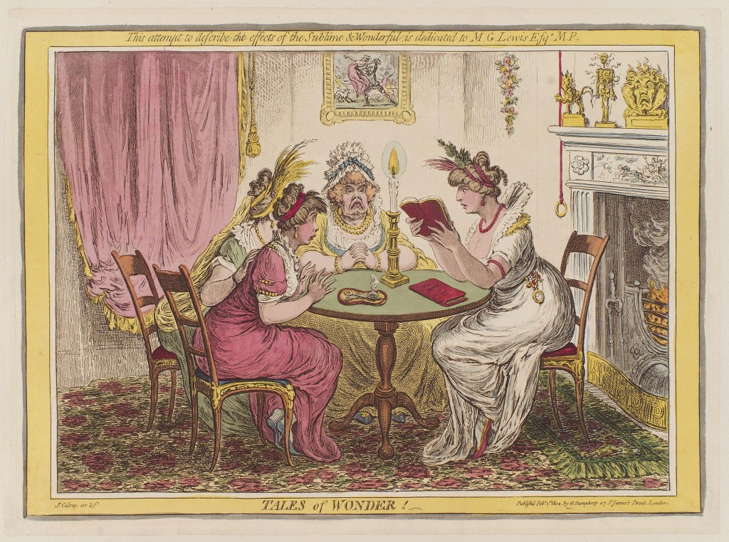 James Gillray, Tales of Wonder (1802)