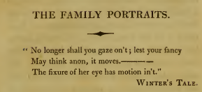 Family Portraits epigraph