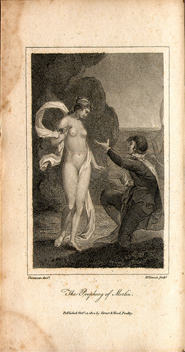 Fig. 1. MacKenzie after E. W. Thompson, 'The Prophecy of Merlin' (1802)
