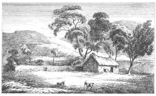 Fig. 2: James Skene, 'The Dwarf's Hut', Series of Sketches (1829)