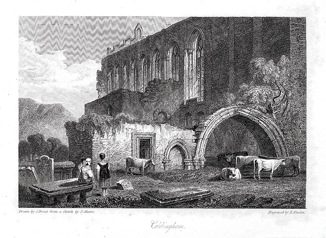 Fig. 4. Samuel Prout, 'Coldringham', Landscape Illustrations (1831)