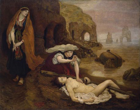Fig. 3. Ford Madox Brown, The Finding of Don Juan by Haidée, oil on canvas (1870–73).