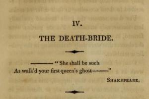 Death-Bride Epigraph