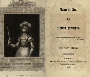 Title Page - Joan of Arc