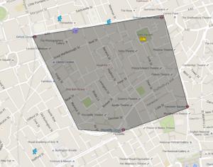 De Quinceys London Google maps 2